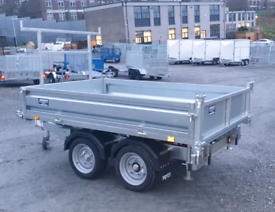 Indespension 8'1 X 5'3 Electric Tipper Trailer