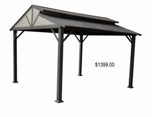 GAZEBOS - HARDTOP AND SWING/GLIDER FOR SALE