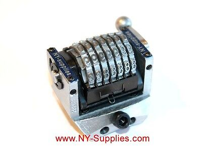New 316 Rotary 7 Digit Convex Backward Numbering Machine Heidelberg Gto
