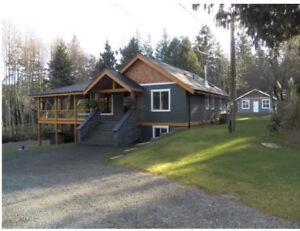 Short-term vacation rental in Nanoose Bay, Vancouver island