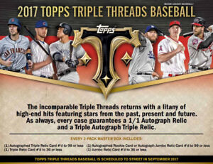 2017 Topps Triple Threads Now Available @ Breakaway