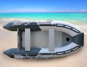 11 ft inflatable boat dinghy 5 Person aluminum flr Brand NEW tax