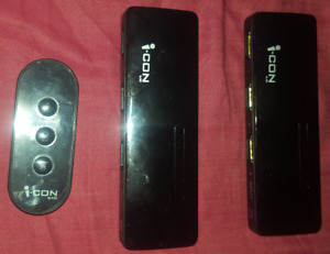 2 i-CON HDMI switchers
