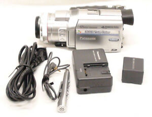 Panasonic PV-GS500 4MP 3CCD MiniDV Camcorder with 12x Optical
