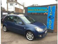 2009 Ford Fiesta 1.4 Zetec Blue 5dr HATCHBACK Petrol Manual