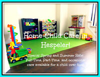 Home Child Care In Hespeler With Flexible Days!