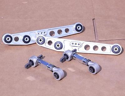 POLISHED REAR LOWER CONTROL ARM CAMBER KIT FOR CIVIC 1988-1995 INTEGRA 1990-2001