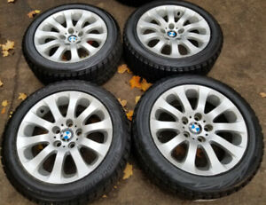 "17"" BMW 3 SERIES SNOW PKG - BRIDGESTONE BLIZZAK on OEM RIMS"