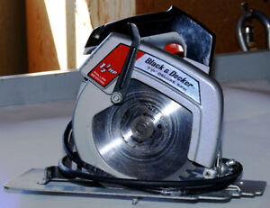 "Black & Decker 7-1/4"" Circular Saw"