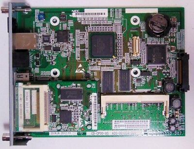 Nec Univerge Sv8100 Cd-cp00-us W Pz-vm21 Main Processor Blade Card W Warranty
