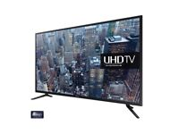 """Samsung 65"""" UE65JU6000 Smart 4k Ultra HD LED TV with Built-in WiFi and Freeview HD"""