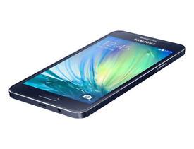 Unlocked Samsung Galaxy A3 Mobile Phone - Black 16GB