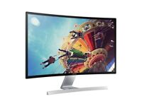 "Samsung 27"" SD590C - Curved monitor with incredible picture quality"