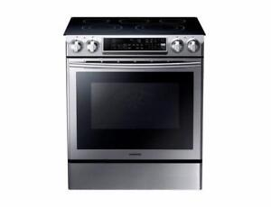 SAMSUNG SELF CLEAN ELECTRIC RANGE NE58F9500SS (NA 11)