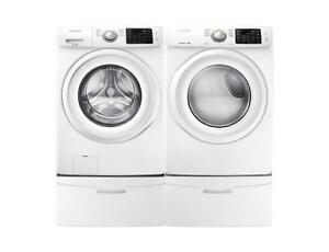 Best Deal on Washer and Dryer Pairs |Samsung WF45K5100AV - DV45K5000EV Washer and Dryer (BD-806)