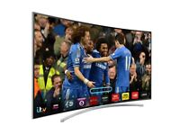 Samsung 48 inch Series 8 Smart 3D Curved Full HD LED TV with Wifi, Freeview HD and Freesat HD
