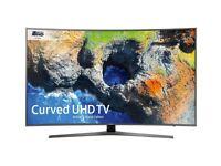 Samsung UE49MU6670 49 Inch 4K Ultra HD HDR LED Smart Curved TV - Like New
