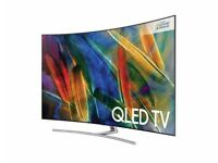 Samsung - Qled - Q8C 75'' Curved TV - Like New condition