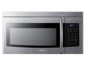 Stainless Steel Over the Range Microwave (SAM1001)