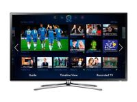 Samsung 46inch smart full HD TV + stand