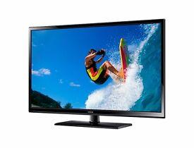 "43"" Samsung plasma television"