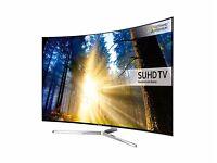 "SAMSUNG Smart 4k Ultra HD HDR 49"" Curved LED TV"