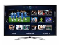 Samsung Smart LED TV 40 inch, builtin WiFi & HD FreeView, used but still looks New condition