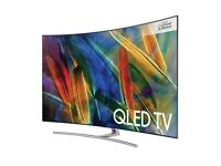 "SAMSUNG QE75Q8CAMT 75"" Q8C CURVED ULTRA HD PREMIUM HDR SMART QLED TV"