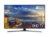 49'' SAMSUNG SMART 4K HDR LED TV.UE49MU6470. FREESAT HD BUILT CHANNELS. FREE DELIVERY/SETUP