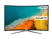 Samsung 40 inch curved hd TV as new