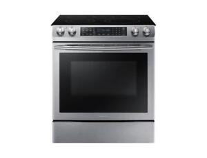 Dual Convection Slide in Electric Range | Applainces Sale in Brampton NE58M9430SS Stainless Steel Electric Range(BD-786)