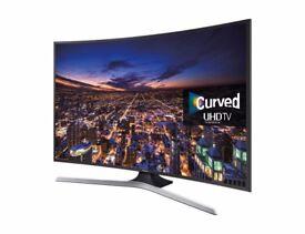 "MINT 55"" Samsung 55JU6740 Curved UHD 4K Smart LED TV"