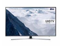 "SAMSUNG - UE40KU6470 Smart 4k Ultra HD HDR 40"" LED TV"