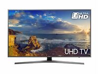 49'' SAMSUNG 4K ULTRA HDR LED TV.2017 MODEL UE49MU6470.FREESAT HD. FREE DELIVERY .