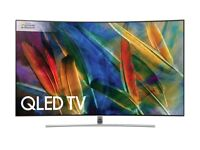 "Brand new unopened Samsung 55"" 4K QLED Curved Smart TV QE55Q8CAMT"