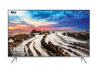 SAMSUNG 65in MU7000 4K HDR LED SMART TV - 3 MTHS OLD -