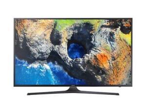 "Samsung UN40MU 6300FXZC 40"" UHD 4K Flat Smart TV MU6300 Series 6 (NA 43)"