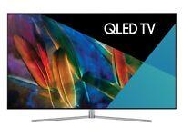 """SAMSUNG 55"""" QLED Smart 4K Ultra HD HDR TV QE55Q7FAM"""