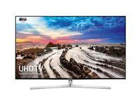 "SAMSUNG UE55MU8000 SMART 4K UHD HDR FREESAT HD 55"" WIFI BLUETOOTH LED TV"