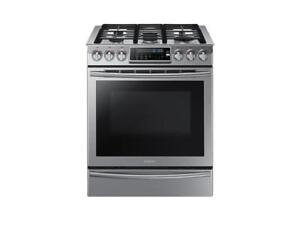 Samsung  NX58H9500WS  5.8 cu.ft Gas Range on Sale (BD-2219)