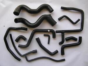 renault 21 2l turbo 13 hoses silicon set quadra r21 coolant hose black ebay. Black Bedroom Furniture Sets. Home Design Ideas