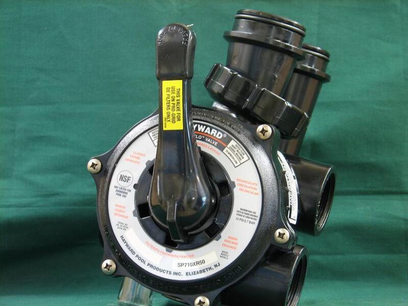 """Genuine Hayward SP0710xr50 1.5"""" Side Mount Multiport Valve DE Filter SP710XR50"""
