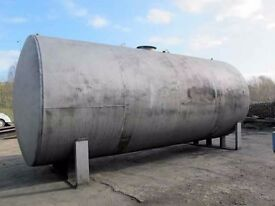 Metal Storage Tank. Suitable for storing diesel, oil, water and molasses