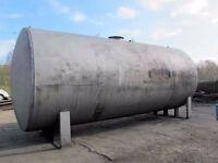 Metal Storage Tank. Suitable for storing diesel, oil, water and molasses