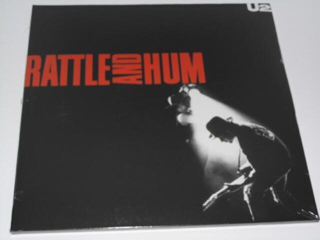 2 LP: U2 - Rattle and Hum, NEU & OVP (A9/4)