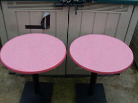 CAST IRON PUB TABLES: - WATERPROOF BEER GARDENS, PUBS, RESTAURANTS, BISTRO, MICROPUBS, CAFETERIAS