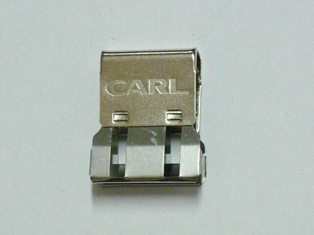 Carl Mori Clip MC-53 paper clips Clip-on Clip-off Large cap. 60 sheet pack of 18