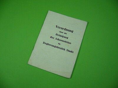 509KS2 Verordnung über die Reinigung der Schornsteine im Regierungsbezirk Stade