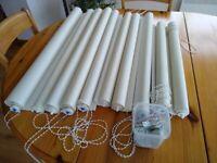 Conservatory Roller Blinds Ivory