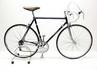 Vintage mens / womens Tonelli city racing bike - Black - 53cm